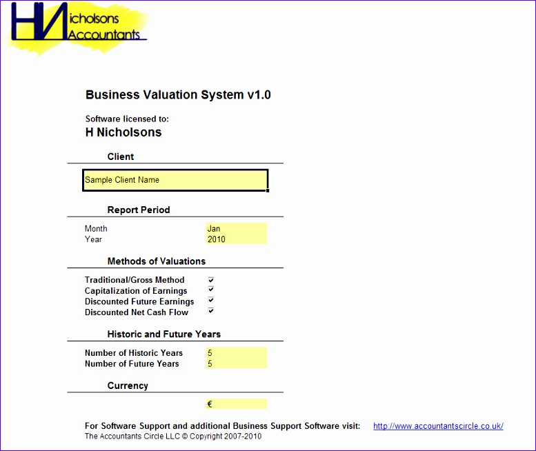 BusinessValuationSystem 777654