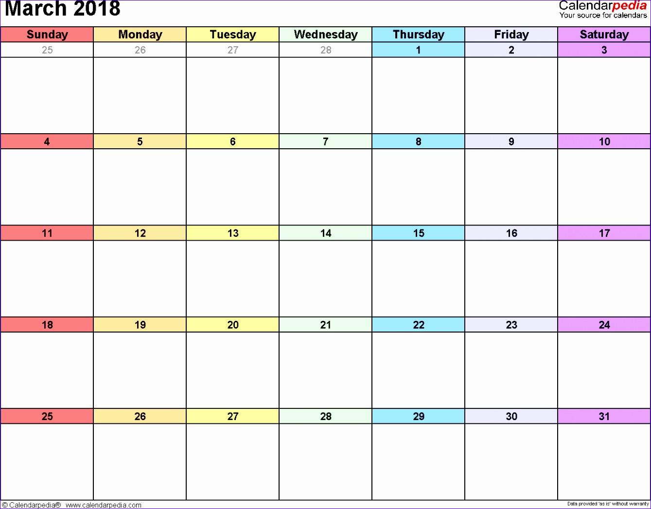 march 2018 calendar template 1543 13391047