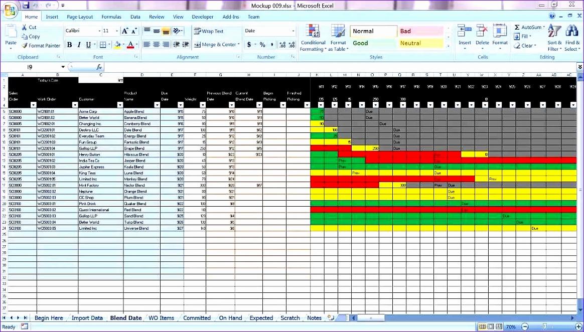 master schedule template excel 1267 1164662