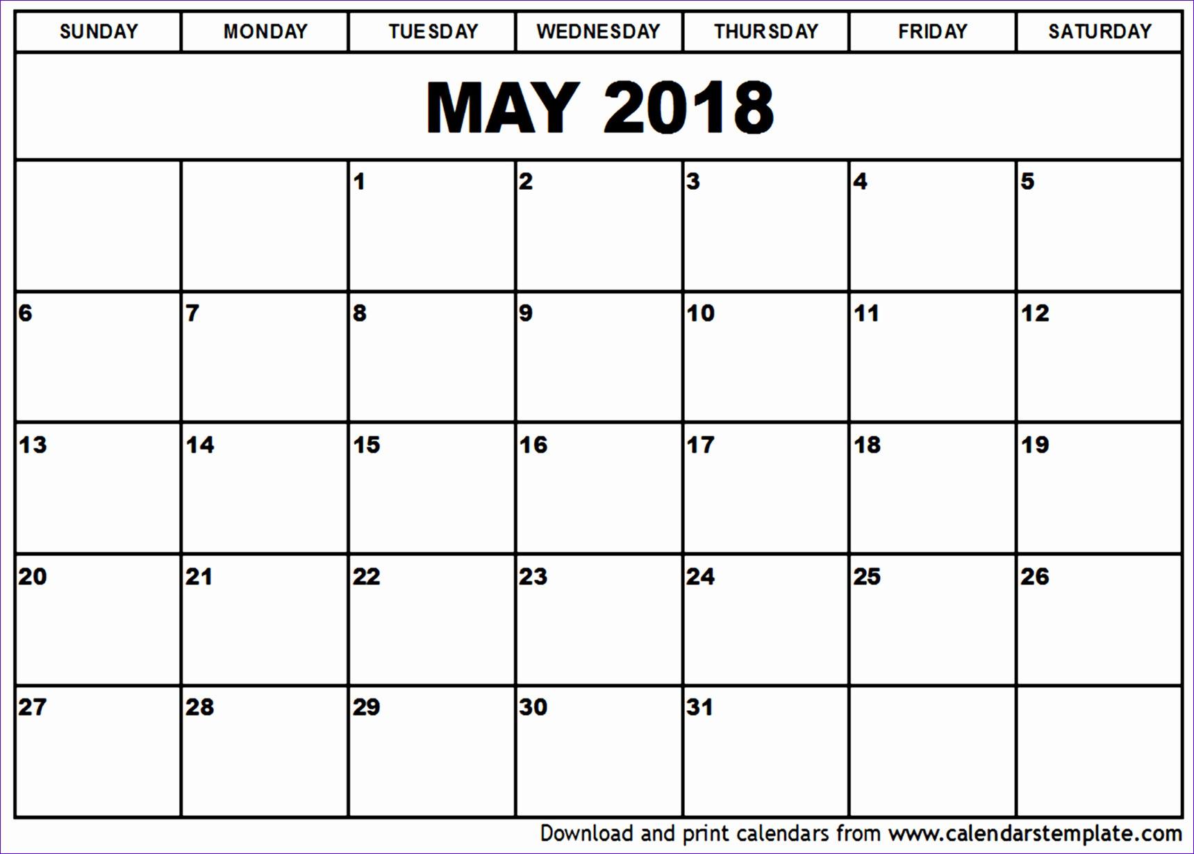 may 2018 calendar template 1685 17191229