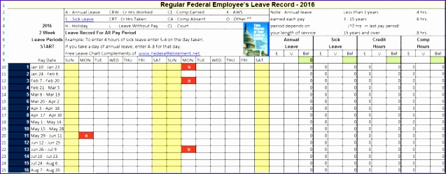 geico leave calendar 2016 excel 637249