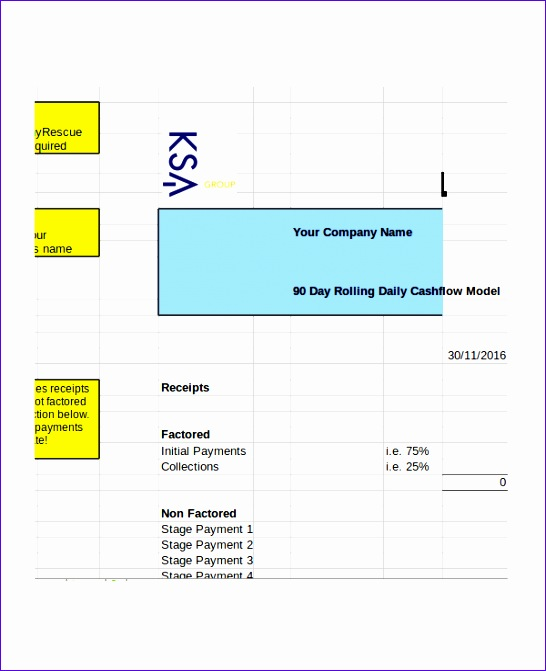 daily cash flow template 546671