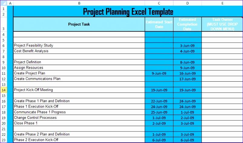 8 free construction estimate template excel