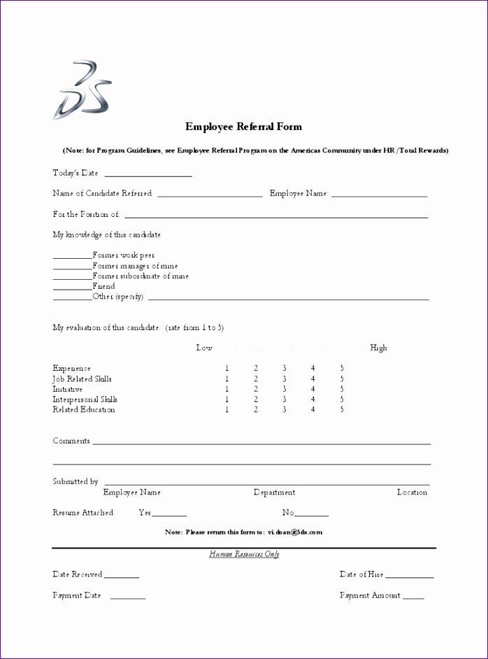 employee referral form 698942