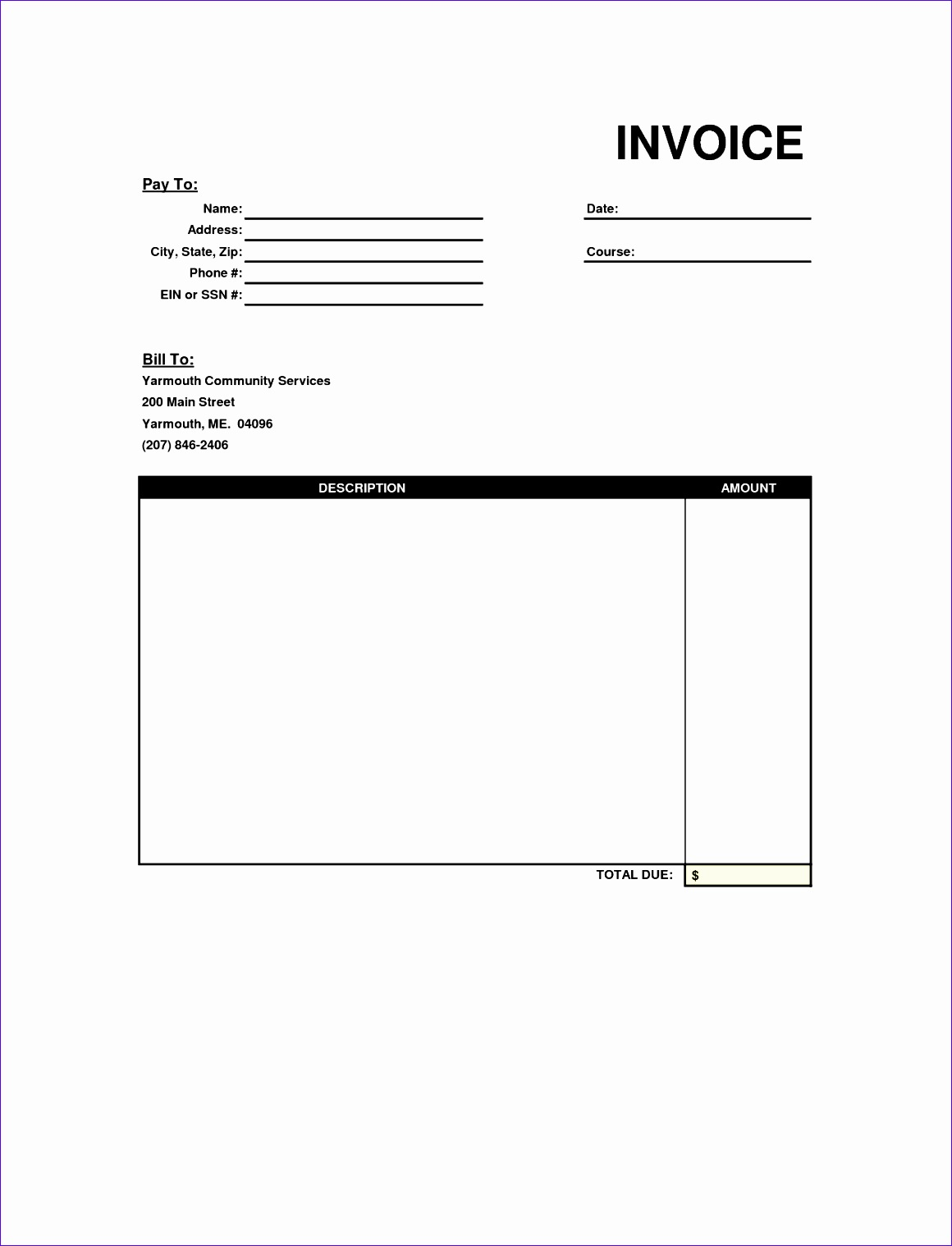 personal invoice template uk 998