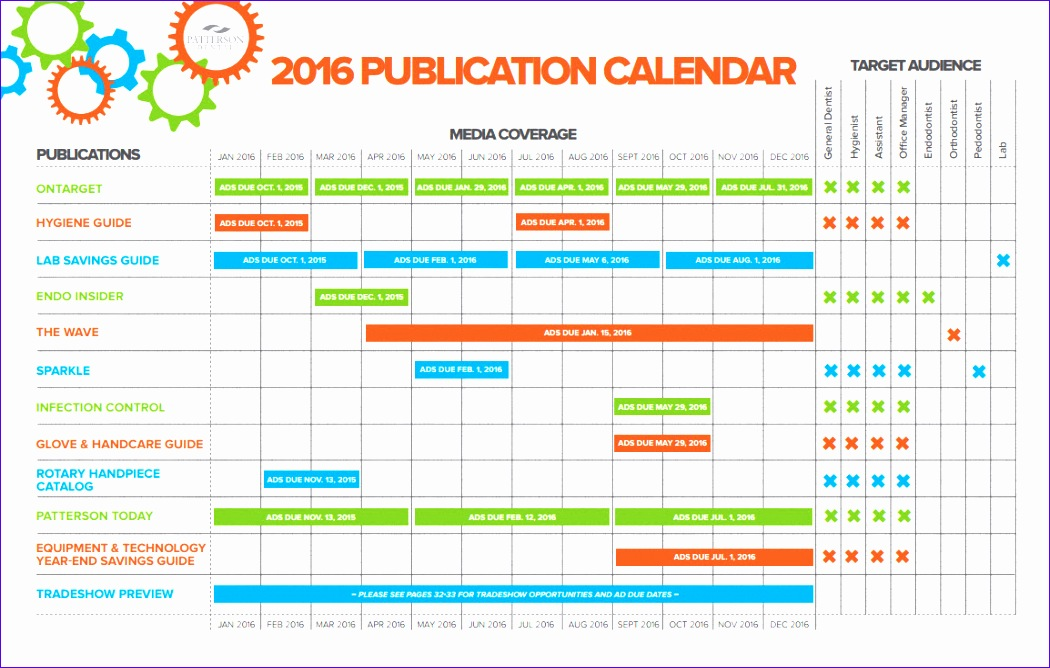 marketing calendar excel template 1050668