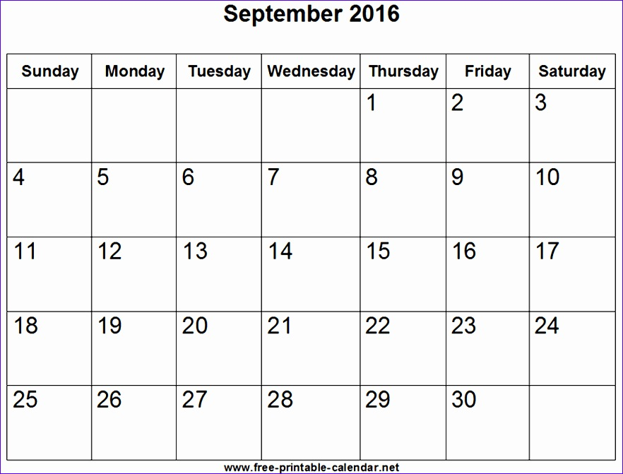 type on calendar template