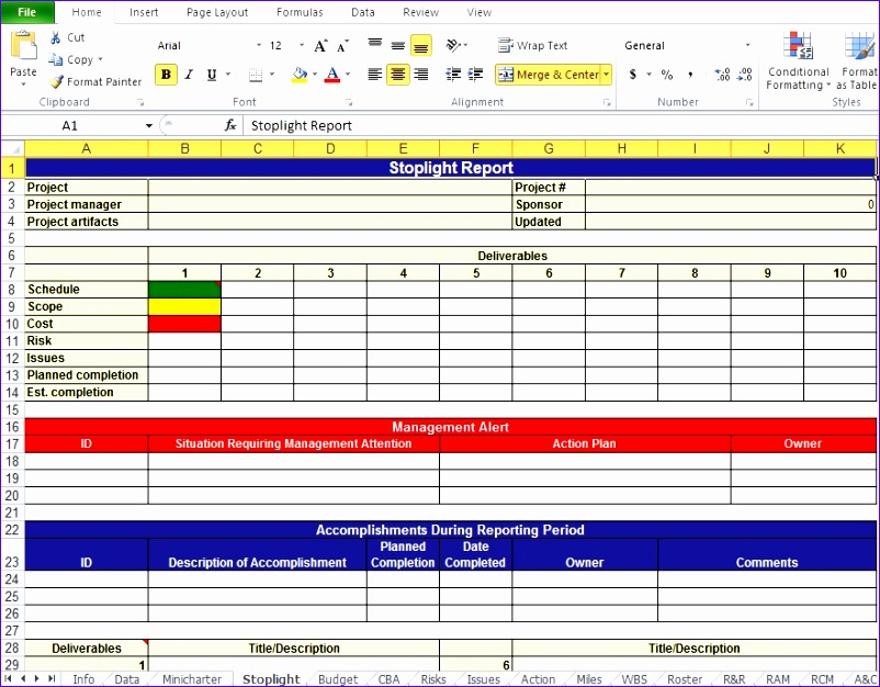 Free Excel Gantt Chart Template Ocbja Awesome Get Project Work Plan ...