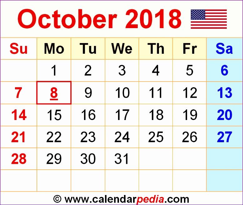 october 2018 calendar template 1289 778656