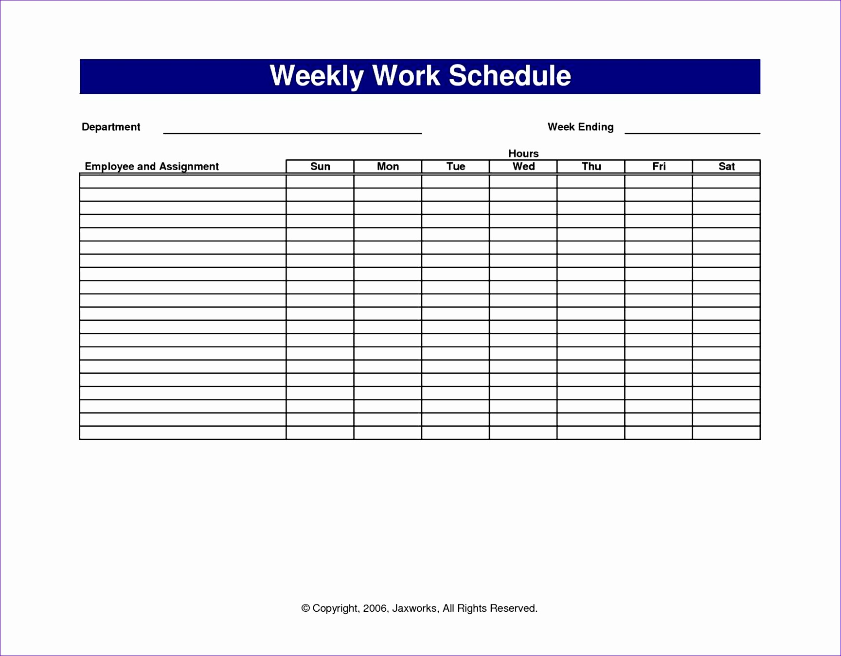 12 Free Excel Shift Schedule Template Exceltemplates
