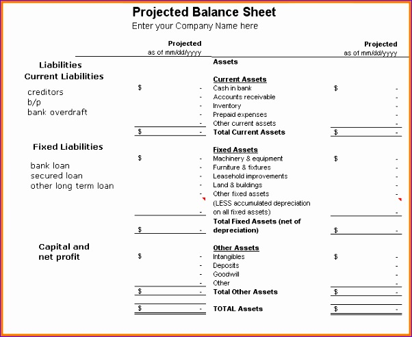 how to prepare a balance sheet