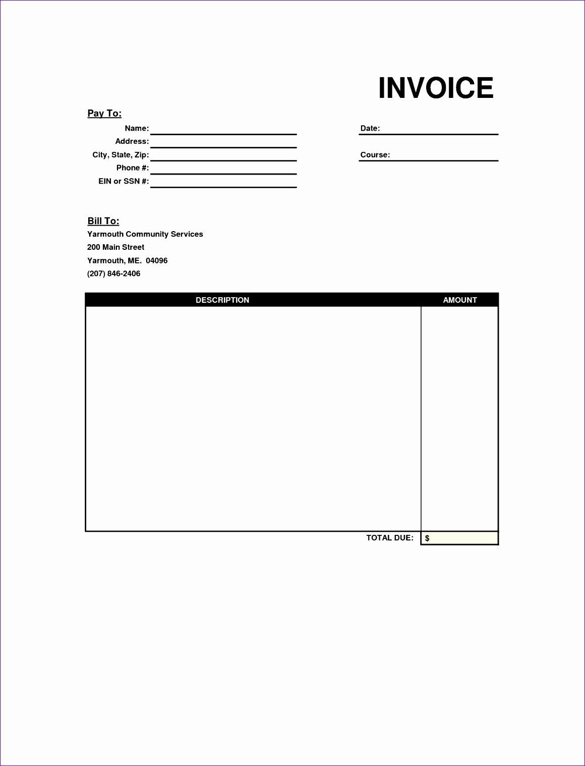 generic invoices printable 11601518