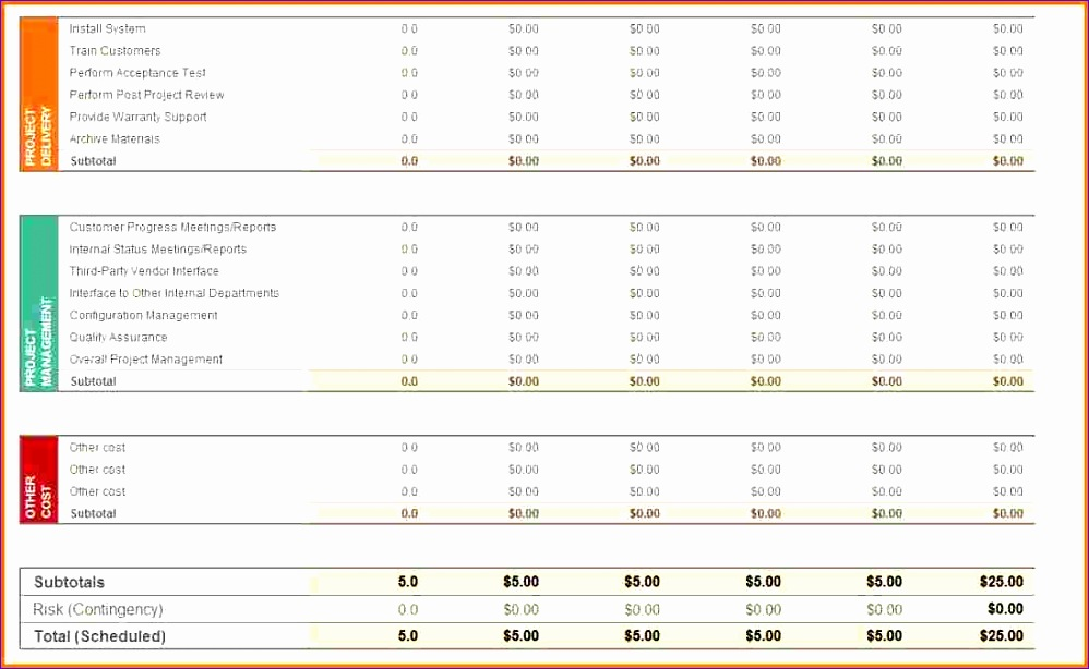 project bud template excel 998614
