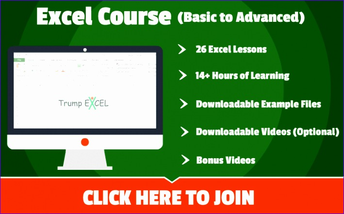 banner excel course2
