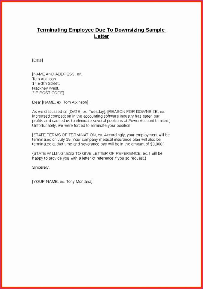 separation letter 677963