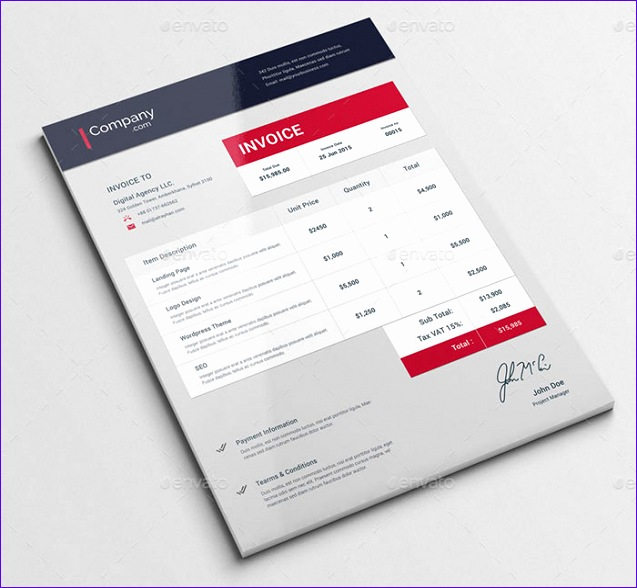 best free invoice templates