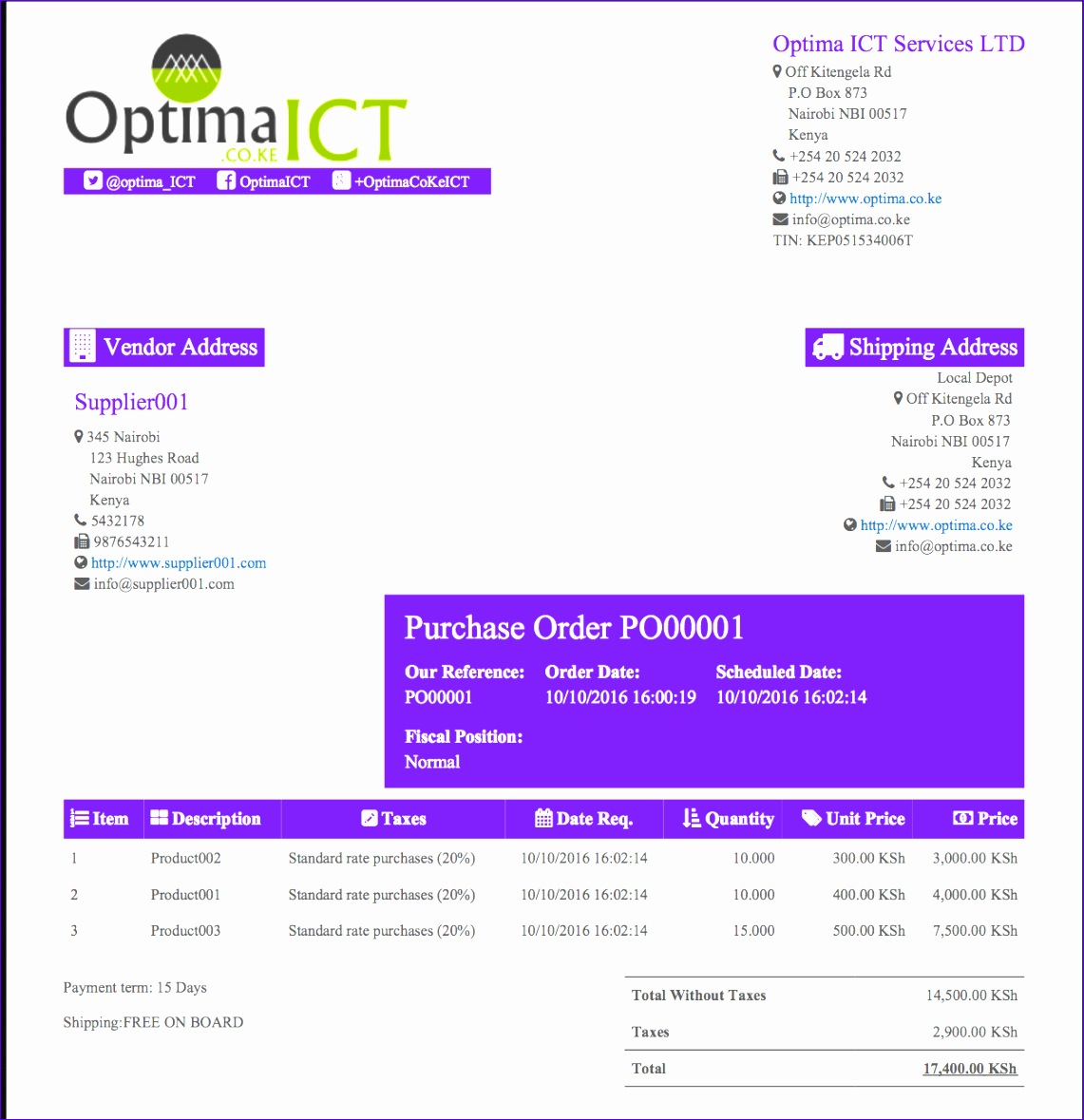 free purchase order template 11411179