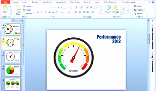 gauges for powerpoint presentations 527309