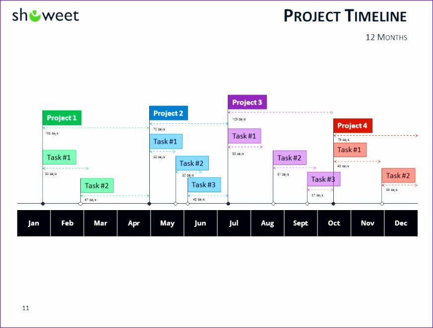 gantt charts and project timelines for powerpoint 873662