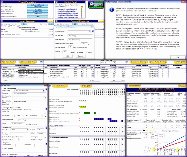 excel project management template 655552