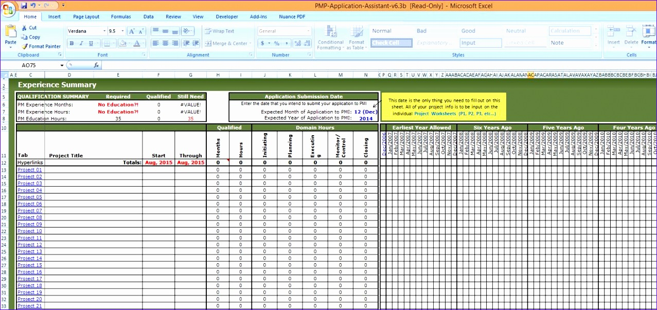 project management spreadsheet template 1277603