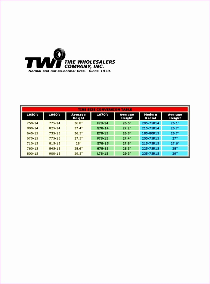 tire conversion chart 698942