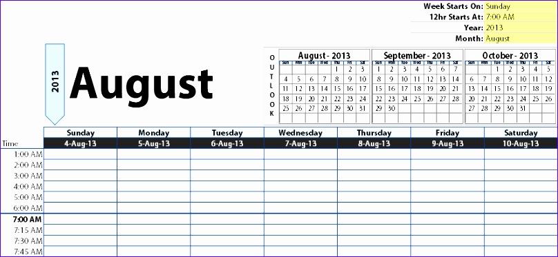 time agenda 808373