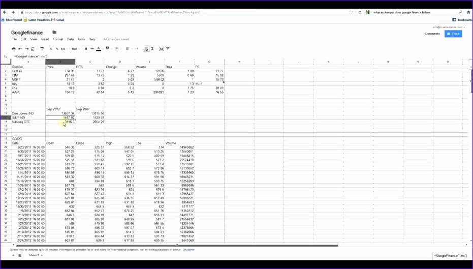 google docs spreadsheet 931529