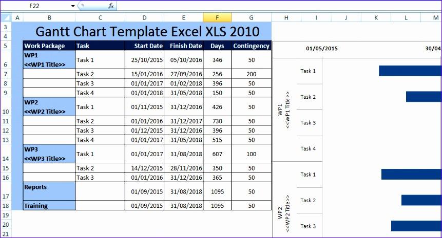 creating gantt chart template excel xls 2010 861465