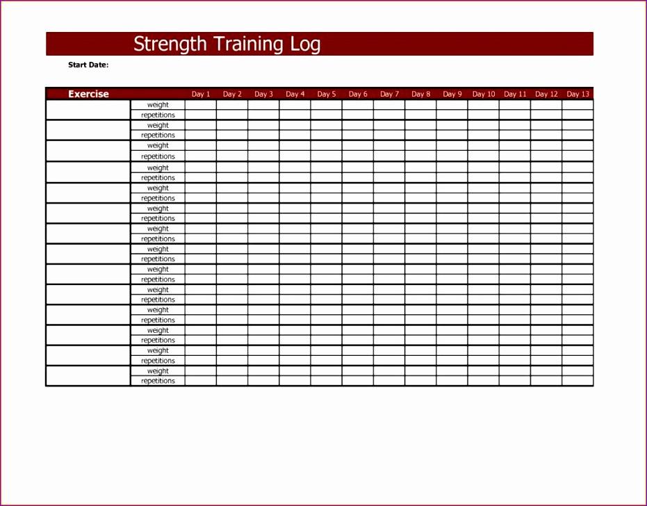 training spreadsheet template 2 931728