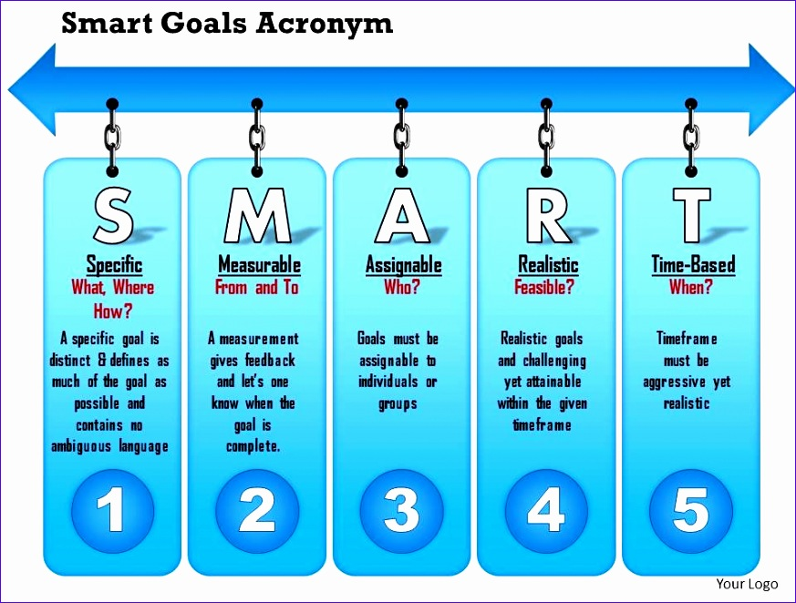 0714 smart goals acronym powerpoint presentation slide template 873662