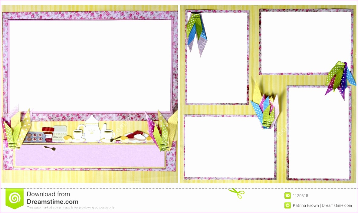 birthday theme scrapbook frame template royalty free stock photo sample 1183704