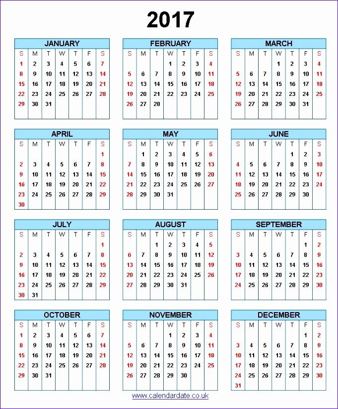 2017 calendar uk 2222 681823