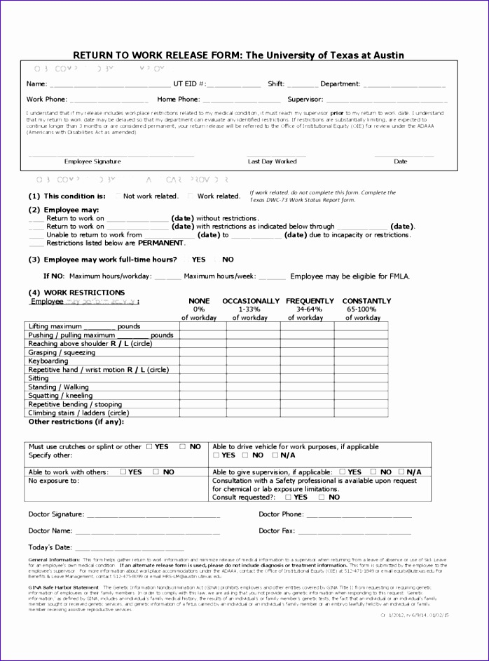 work release form 698942