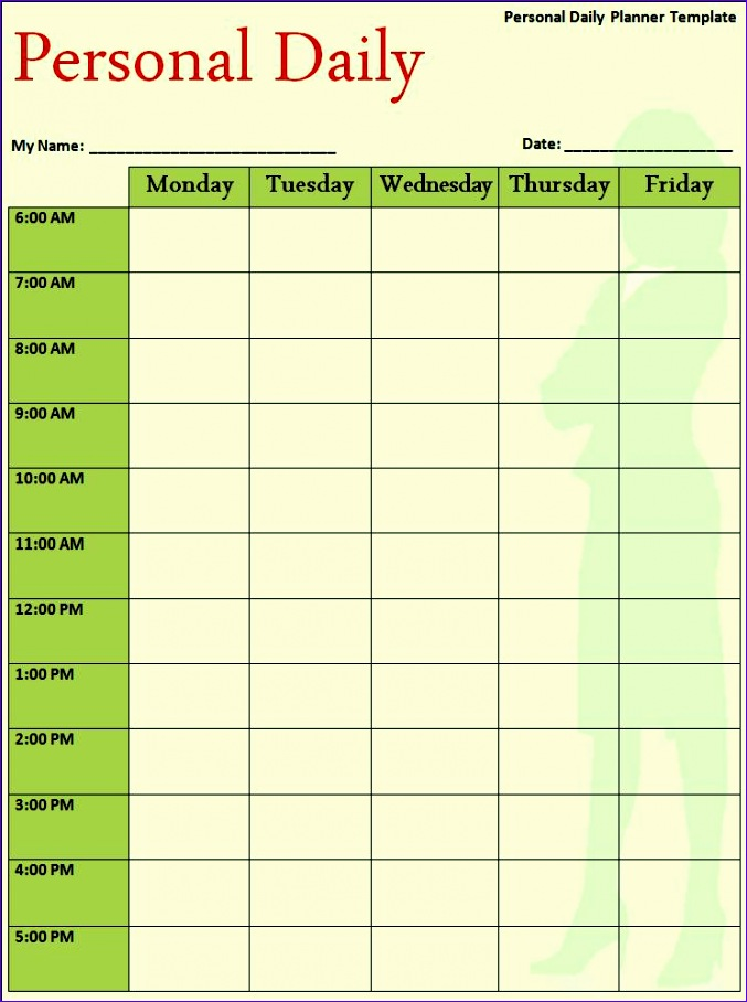 8 hourly schedule excel template - exceltemplates