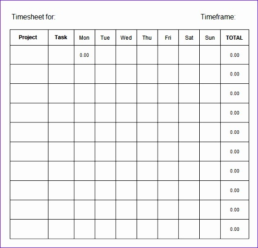 employee timesheet 527506