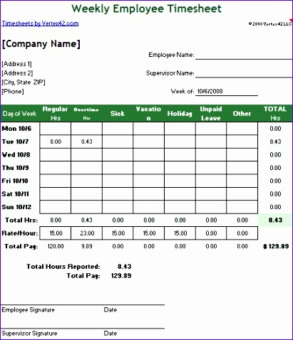 free employee timesheet template excel 411478