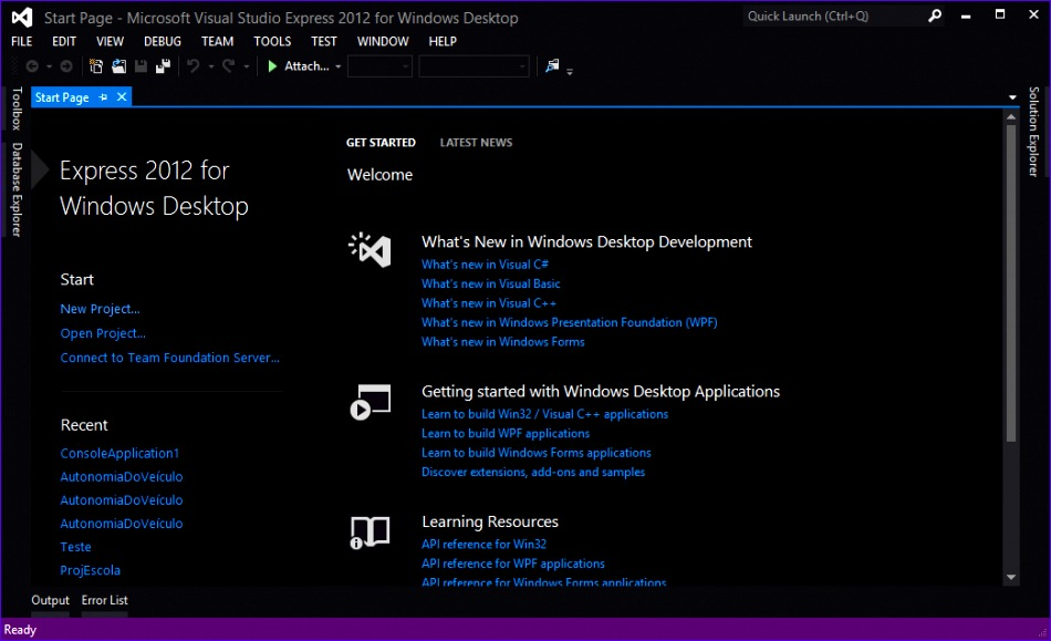 how to create a program interface style like the one used in visual studio of 950579