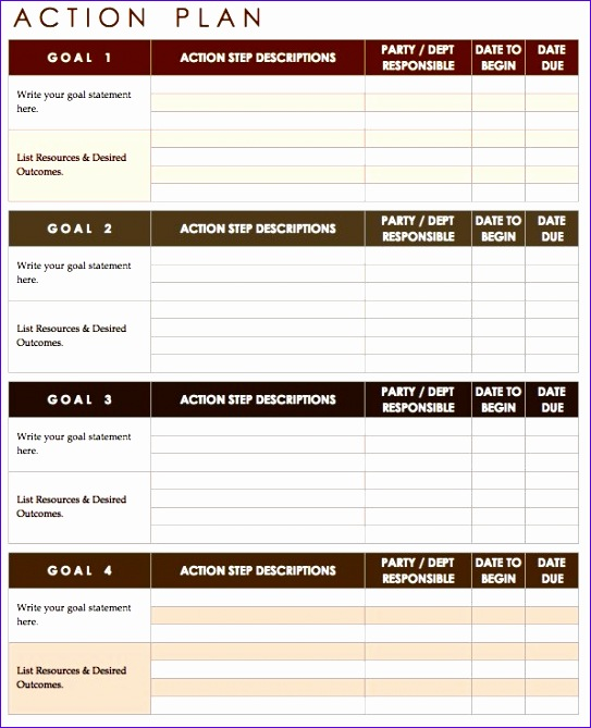 9 Implementation Plan Template Excel - ExcelTemplates - ExcelTemplates