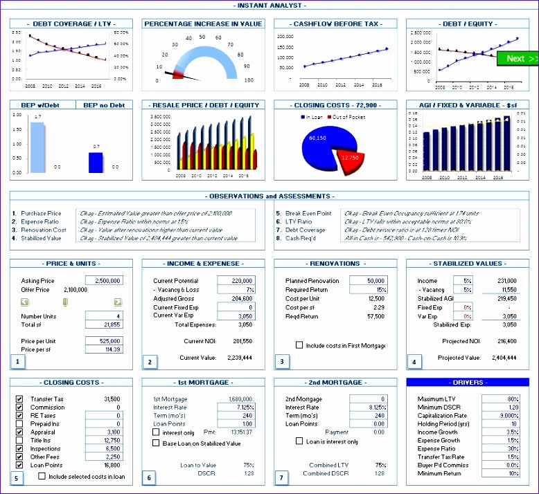 Realty Analytics 2008 Excel 2007tml 778714