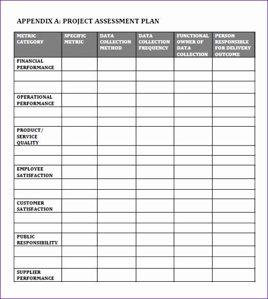 sample assessment plan 527588