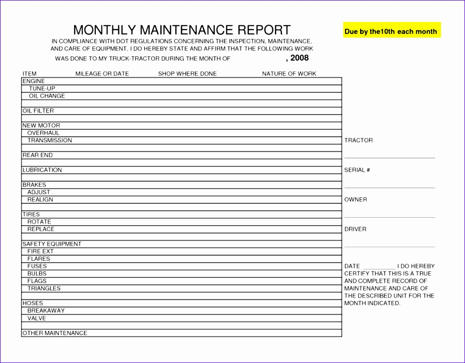 10 inspection sheet template excel