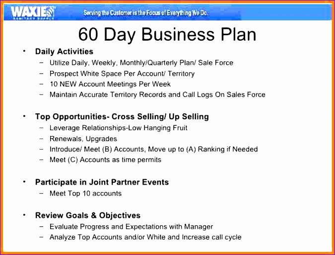 8 90 day action plan templates 675515