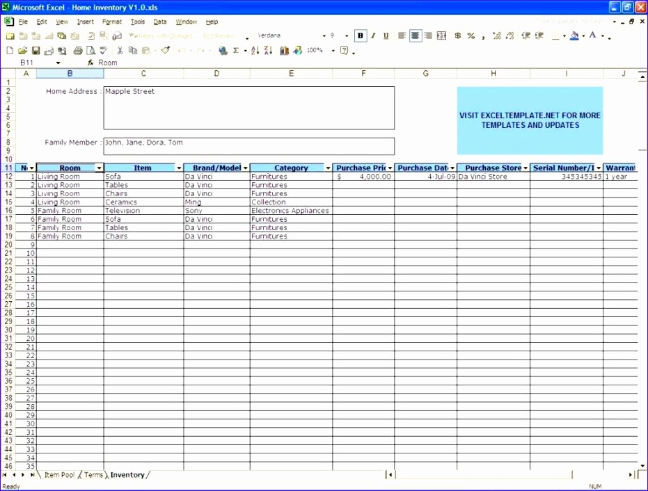 inventory spreadsheet template excel 931706