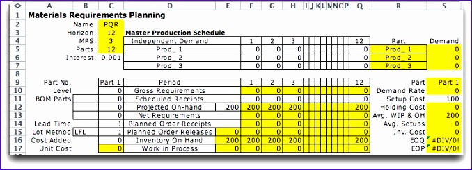 Inventory Management Excel Template O6dws New Putation Operations