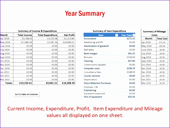 in e expenditure excel spreadsheet 580440