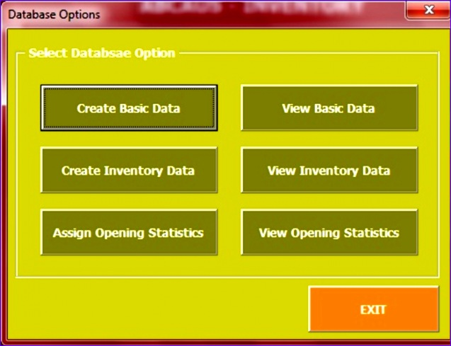 inventory management template access 2007 - 6 inventory tracking template excel exceltemplates