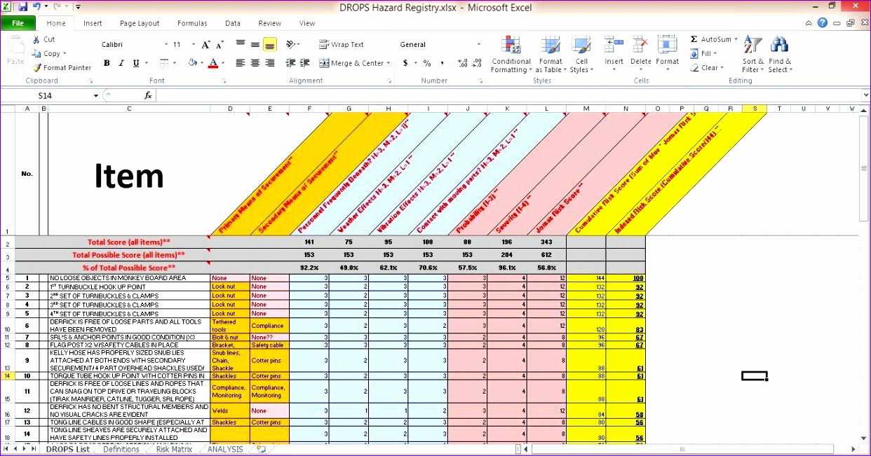 incident tracking spreadsheet 1242651