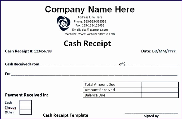 printable receipt form 592388