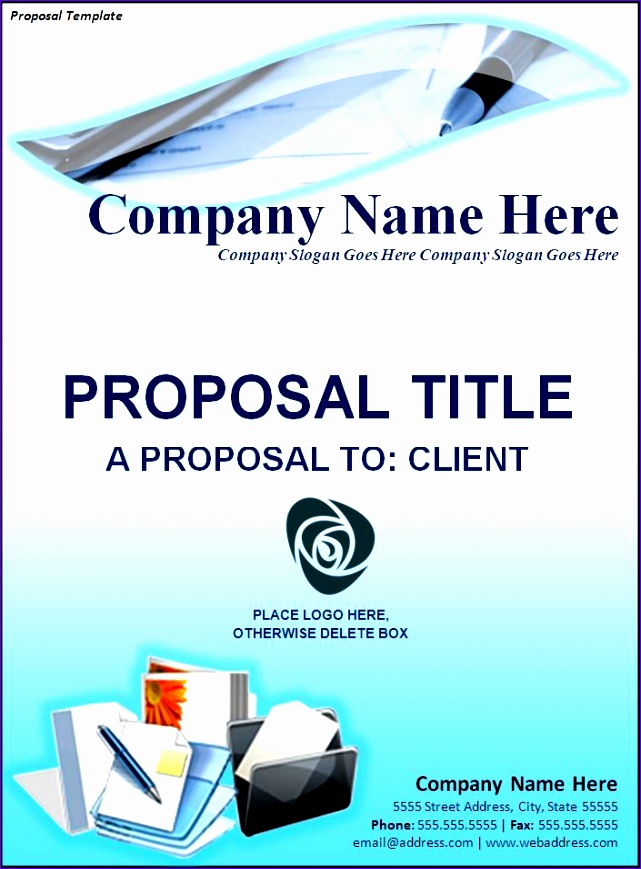 proposal cover template 641869
